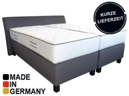 premium boxspringbett mit taschenfederkern g nstig. Black Bedroom Furniture Sets. Home Design Ideas