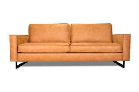 2-Sitzer Sofa Cognac.