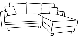 kleine ecksofas. Black Bedroom Furniture Sets. Home Design Ideas