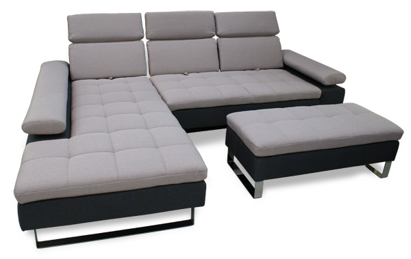 divano ecksofa hocker sofadepot. Black Bedroom Furniture Sets. Home Design Ideas