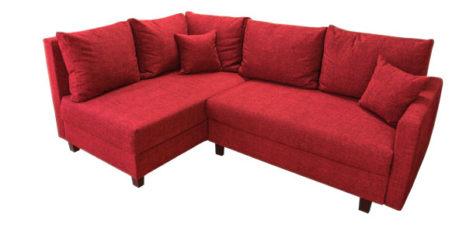 kleines ecksofa mit hoher lehne sofadepot. Black Bedroom Furniture Sets. Home Design Ideas