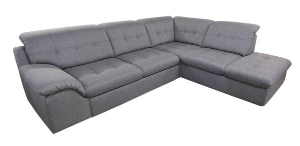 Polstermöbel mit schlaffunktion  Ecksofa mit Schlaffunktion und Bettkasten, günstig im Sofadepot.