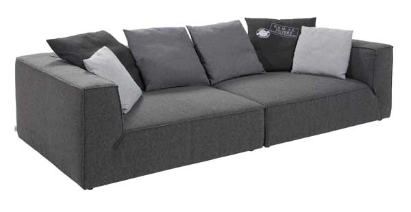 sofa tiefe sitzflche simple cooles bretz sofa in. Black Bedroom Furniture Sets. Home Design Ideas