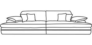 ecksofa g nstig von sofadepot. Black Bedroom Furniture Sets. Home Design Ideas
