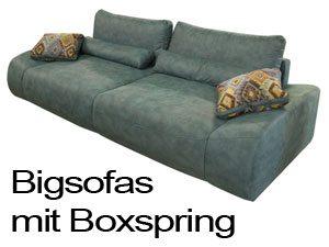 Bigsofas Boxspring.