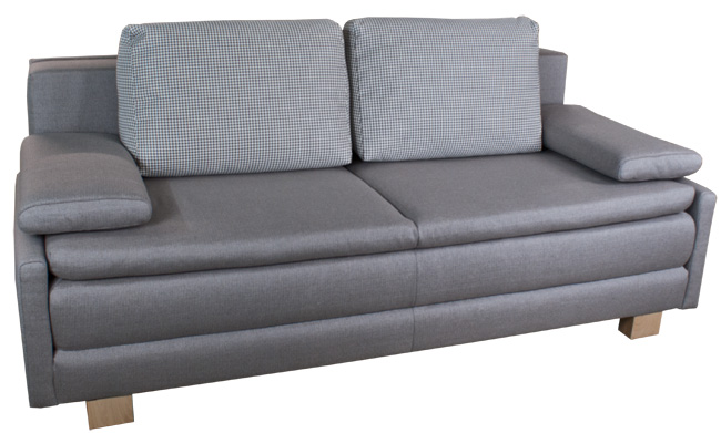 Boxspring Schlafcouch.
