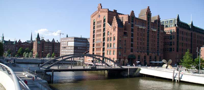 Hafencity Hamburg.