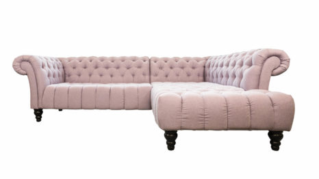 Guenstiges Chesterfield Ecksofa.
