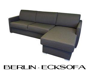 Ecksofa Dauerschlaefer mit Bettkasten.