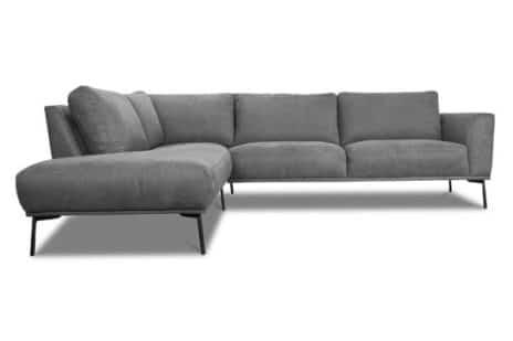 Design Ecksofa im nordischen Stil.