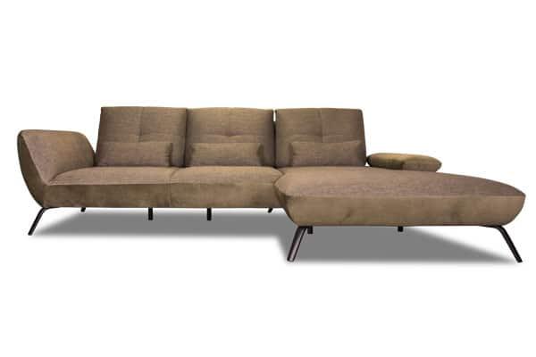 Designer Sofa mit Sitztiefenverstellung