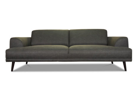 Designer Sofa als 2-Sitzer.