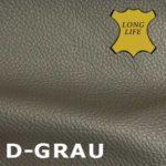 Longlife Leder in Grau.