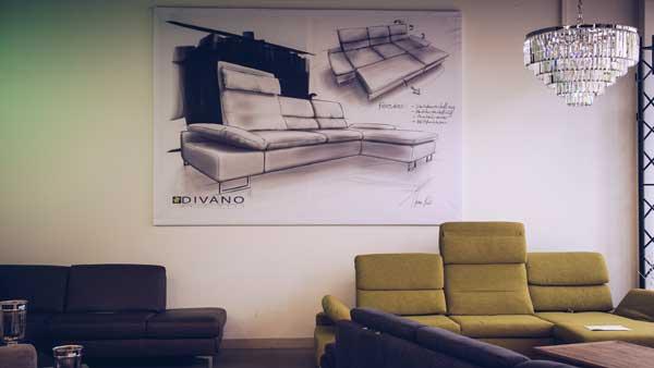 Sofas von Divano.