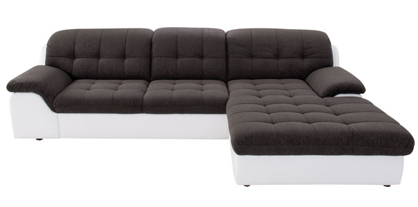 ecksofa mit steppung archive sofadepot. Black Bedroom Furniture Sets. Home Design Ideas