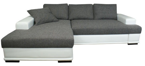 High Quality Ecksofa Mit Federkern Und Schlaffunktion. Photo