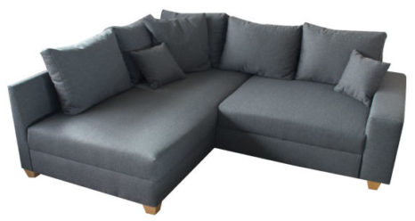 ecksofa mit klappbaren r ckenlehnen sofadepot. Black Bedroom Furniture Sets. Home Design Ideas