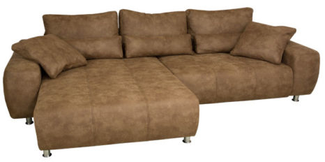 Ecksofa gross mit Boxspring.