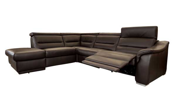 ledersofa mit elektrischer fernsehsesselfunktion sofadepot. Black Bedroom Furniture Sets. Home Design Ideas
