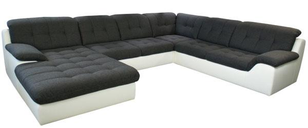 grosse wohnlandschaft sofadepot. Black Bedroom Furniture Sets. Home Design Ideas