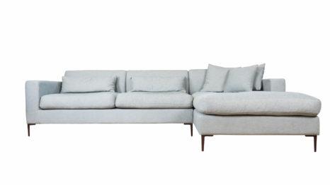Guenstiges Sofa nordische Stilrichtung.