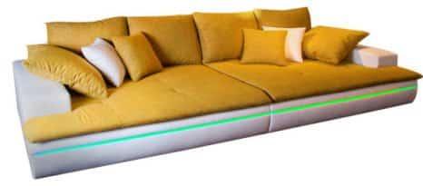 Bigsofa LED mit Fernbedienung.