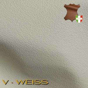 Weisses Leder.