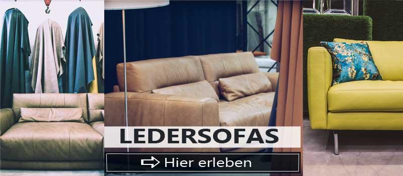 Guenstige Ledersofas im Sofa Depot.