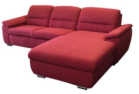 eckcouch mit federkern und bettfunktion sofadepot. Black Bedroom Furniture Sets. Home Design Ideas