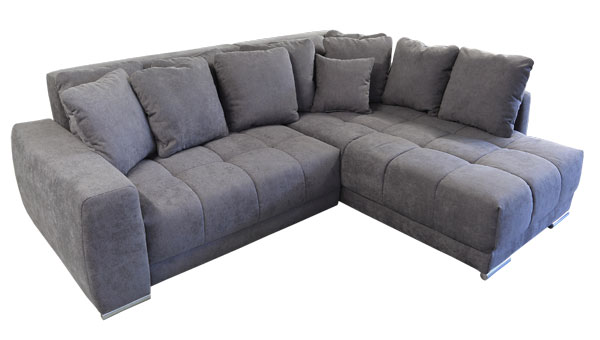 Eckschlafsofa mit bettkasten  Sofa zum weichen Sitzen. - Sofadepot