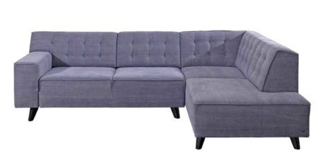 Tom Tailor Ecksofa Flieder.
