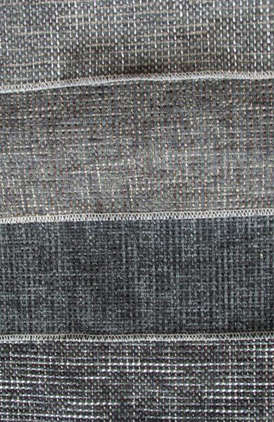 Moderne graue Stoffe.
