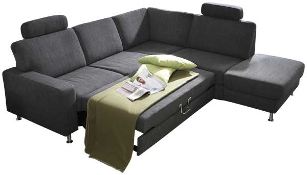 ecksofa mit schlaffunktion und bettkasten g nstig im sofadepot. Black Bedroom Furniture Sets. Home Design Ideas