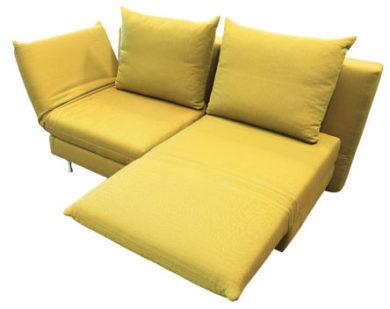 Schlafsofa mit drehbaren Sitze