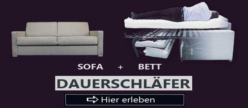 Dauerschlaefer Sofas.