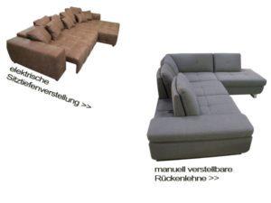 Sitztiefenverstellung Sofadepot