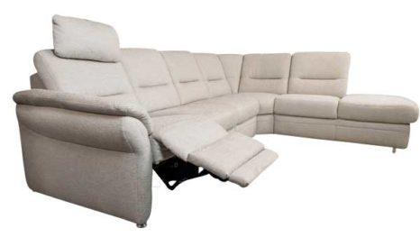 ledersofa mit elektrischer fernsehsesselfunktion sofadepot. Black Bedroom Furniture Sets. Home Design Ideas