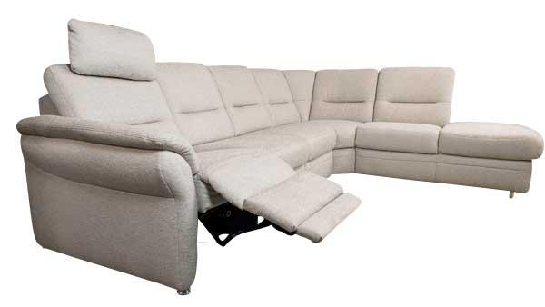 sofas mit elektrischer relaxfunktion sofadepot. Black Bedroom Furniture Sets. Home Design Ideas