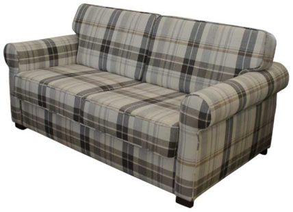 Landhausstil Sofabett mit Matratze.