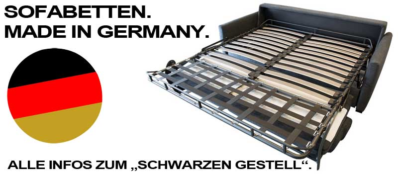 Sofabetten made in germany.