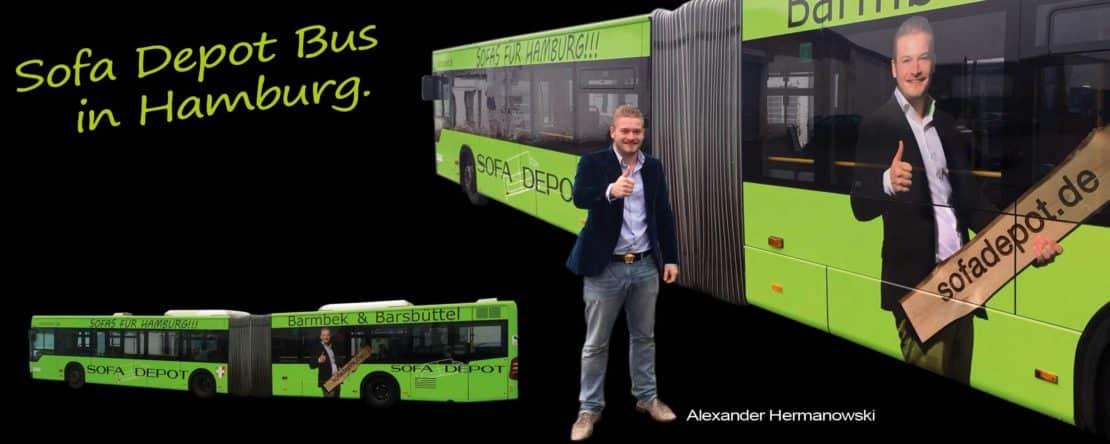 Sofadepot bus sofadepot for Depot hamburg