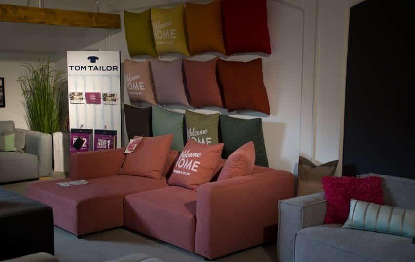 Tom Tailor Sofa Ausstellung im Sofa Depot.