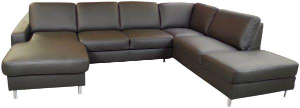 Couch u form leder  Ledersofas - Sofadepot