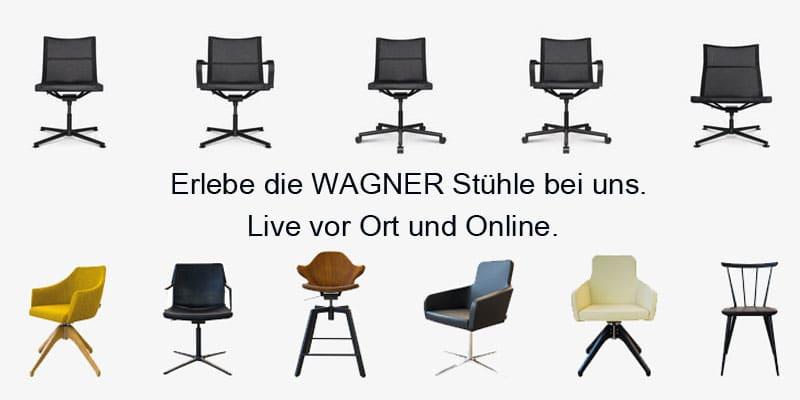 Wagner Stuehle im Sofa Depot.