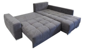 Weiche Bettfunktion Ecksofa.